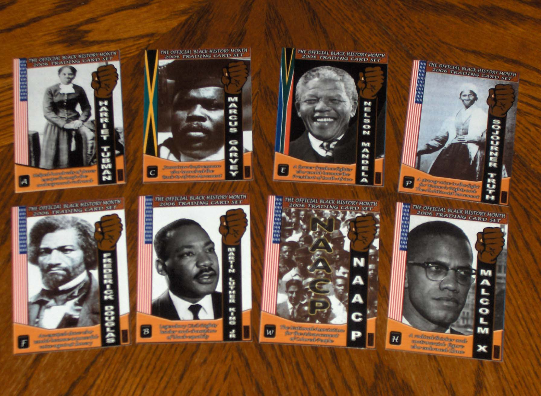 69c0cc09d Black History Trading Cards for youth