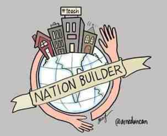 role of teacher in nation building