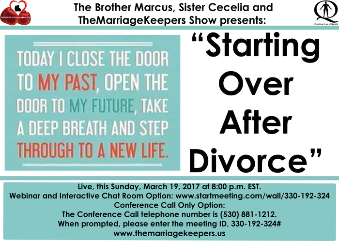 starting life after divorce